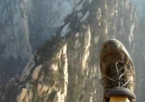 断崖絶壁!中国の華山