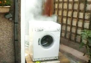 洗濯機の壮絶な最期
