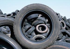 タイヤのアート