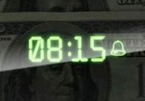 シュレッダー式目覚まし時計