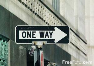 意味深な道路標識