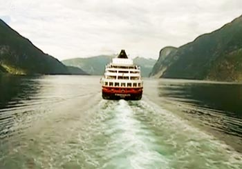 ノルウェーのクルーズ船