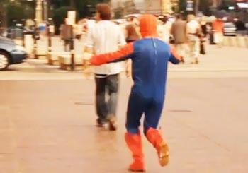 迷惑なスパイダーマン