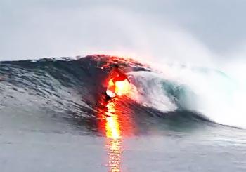 炎のサーフィン野郎