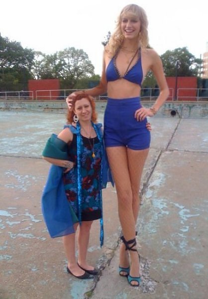 特大サイズの女性