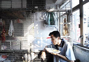 香港貧困層の生活