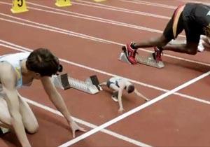 小人がオリンピック出場