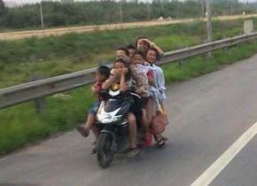 たくましいベトナム人
