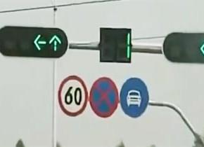 青信号短すぎっ!わずか1秒で赤に変わってしまう中国の信号