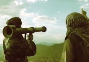 ゲリラ兵が撃ち落としたものは?