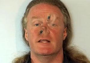 人間の顔を使った目の錯覚実験