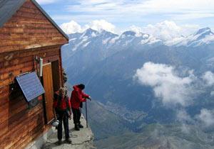 マッターホルン最高度の山小屋