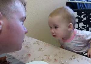 ロシア語と赤ちゃん語のガチンコトーク