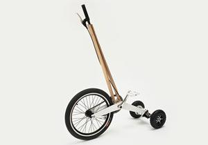 ミニマルデザインのHalfbike