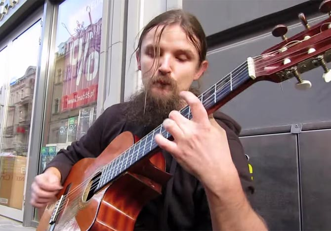 ポーランドのすご腕ギタリスト