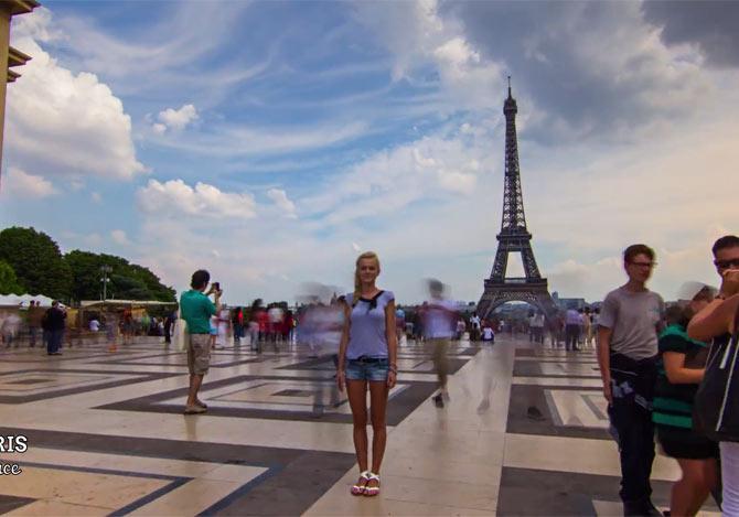 2分間でヨーロッパ8カ国を巡る旅