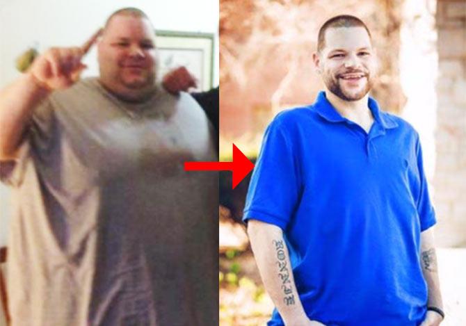 180kgのダイエットに成功した男