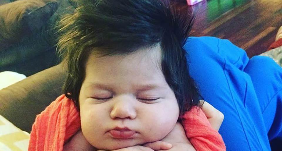 剛毛の赤ちゃん