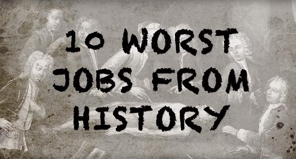 とんでもなくツライ仕事ベスト10