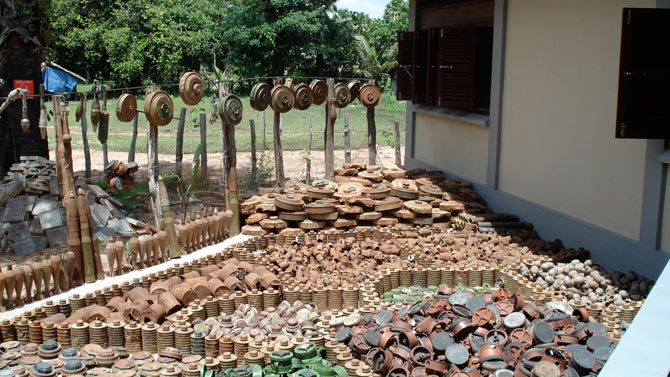 The Cambodia Landmine Museum And School