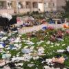 片付けられない中国の学生寮