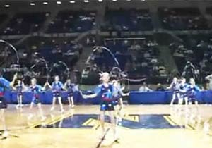 女子の圧倒的な縄跳びパフォーマンス