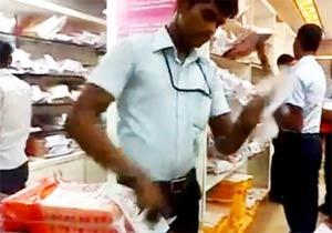 インド・チェンナイのシルク屋さん