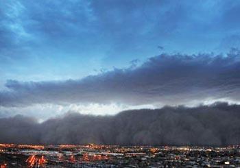 アリゾナの砂嵐