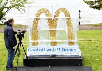 マクドナルドのクールな広告
