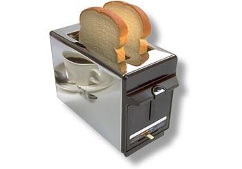 トーストを使ったアート