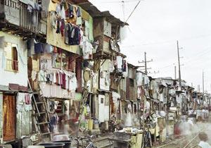 マニラのスラム街