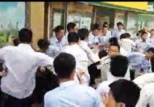 北京の不動産業者どうしの乱闘
