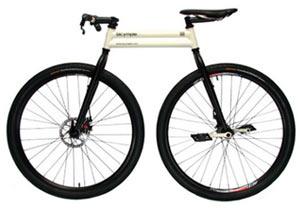 シンプルな自転車「bicymple」