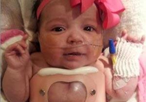 心臓転移症の赤ちゃん