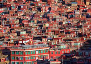 東チベットの秘境ラルン・ガル・ゴンパ