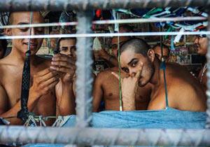 劣悪な環境のエルサルバドル刑務所