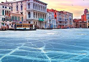 ヴェネチアの水辺が凍ってしまったら?