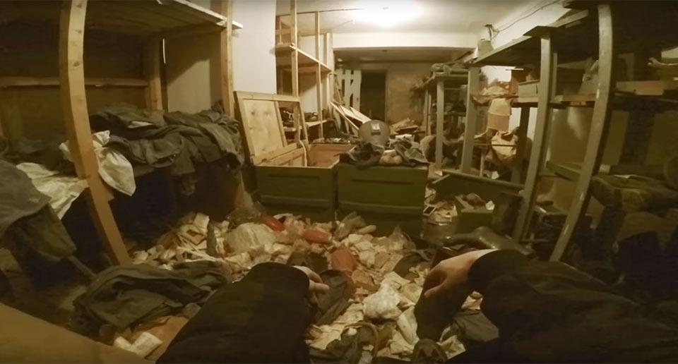 旧ソ連時代の地下要塞に潜入
