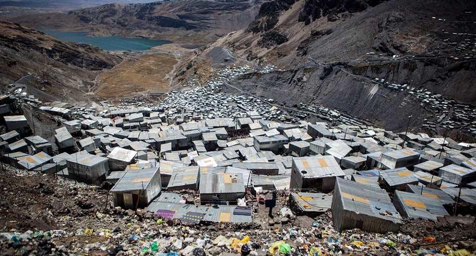 ペルーの鉱山都市「ラ・リンコナダ」